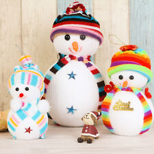 Lovely Xmas Gift Snowman Doll Christmas Tree Hanging Decoration Doll random