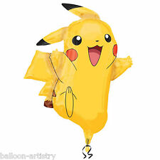 "31"" POKEMON Children's Birthday Party PIKACHU Foil Supershape Balloon"