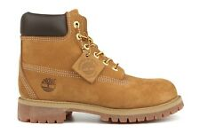 NEW Timberland 6-Inch Premium 12709 Youth PS Kids Wheat Nubuck Waterproof Boots