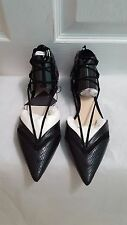 ZARA BALLERINAS WITH STRAPS EUR 38/39/40 US 7.5/8/9 REF. 1331/101 NWT!!!