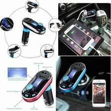 Handsfree LCD MP3 Player FM Transmitter Wireless Bluetooth Car MP3 Player Kit AU