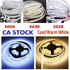 5M 3528 5050 5630 3014 SMD Flexible LED Strips Cool White Warm White Xmas Lights