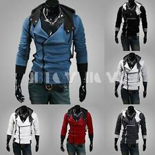 Cool Mens Slim Fit Stylish Sweatshirt Hoodies Hooded Casual Coat Outwear Jacket