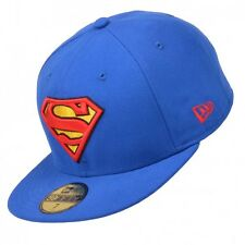 New Era Cap Basic Superman Blue/Yellow/Red Team 59FIFTY Baseball Cap Caps Hat
