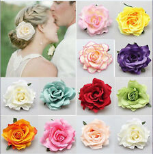 1pcs Hair Clip Rose Flower Bridal Hairpin Wedding Party Bridesmaid New Women