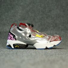 REEBOK INSTAPUMP FURY OG VILLAINS (SILVER MET/BLACK/YELLOW) AR1445 MEN'S SHOES