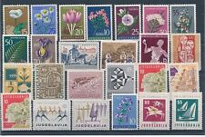 D100639 Yugoslavia Nice selection of MNH stamps