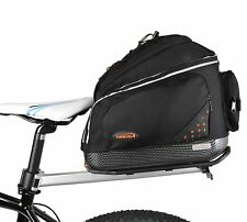 Ibera Parka Bicycle Seat Post Bicycle Commuter Rack and Quick Release Bag New