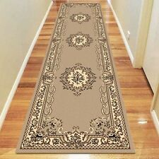 NEW Saray Rugs Sun Grace Oriental Runner Rug in Beige, Black, Brown, Grey, Red