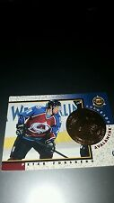 peter forsberg colorado avalanche nhl card