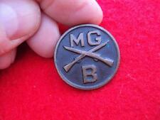 WWI Machine Gun Company enlisted Collar disc