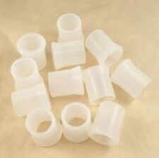 12PCS SOFTY Rubber WHITE Tobacco smoking Pipe Tip Grips SIZE 9mm
