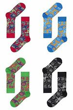 Happy Socks Brand New Women's Paisley Abstract Socks US 7-9 FREE SHIPPING !!