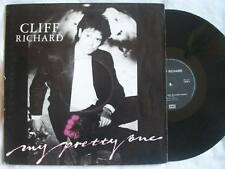 """CLIFF RICHARD My Preety One 12"""" vinyl poster sleeve Sound Clip in Listing"""