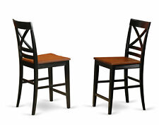East West Furniture Quincy Bar Stool Set of 2