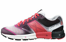 REEBOK Ladies One Cushion 2.0 Trainers Running Shoes Pink Black M47725 UK5.5 NEW