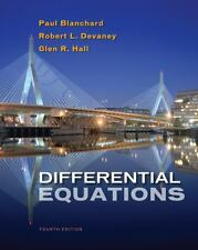 Differential Equations by Blanchard, Paul (Paul Blanchard), Devaney, Robert L.,