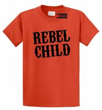 Rebel Child T Shirt Cute Country Music Redneck Band Tee Southern Rebel Gift Tee