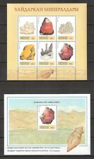 "Kyrgyzstan ""Minerals"" 2 sheets  MNH stamps"