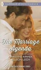 The Marriage Agenda Marriage ConspiracyThe Billionaire's Ba by Rimmer Christine