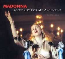 Don't Cry for Me Argentina [US CD Single] [Single] by Madonna (CD, Feb-1997, War