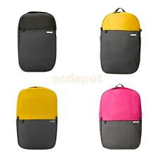 Candy Color Waterproof Backpack Bag Travel Notebook Laptop Computer Bag