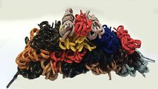 ROUND STRONG BOOT LACES FOR WALKING/ HIKING /  WORKING BOOTS