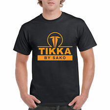 New Tikka T3 By Sako Finland Shot Gun Rifle Hunting Trap Black T Shirt S-5XL AV