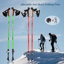 Adjustable Anti Shock Hiking Walk Trekking Walking Poles Sticks Alpenstock O4X9