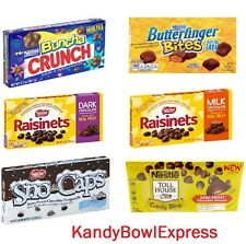 NESTLE CONCESSION SELECTION 15-12PACK-BUTTERFINGER-CRUNCH-RAISINETS-TOLL HOUSE..
