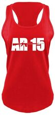 AR15 Ladies Soft Tank Top Gun Rights Hunting Rifle Mom Gift Racerback Z6