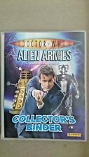 Doctor Who Alien Armies Glitter Foil Cards