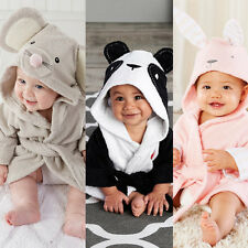 1x Baby Bath Robe Fashion Panda Toddler Hooded Towel Mouse Cute Cute Sweet #YQ