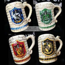 Wizarding World of Harry Potter : Sculpted Ceramic Gryffindor Stein Mug Cup NEW