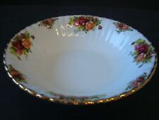 ROYAL ALBERT OLD COUNTRY ROSES ROUND SALAD / SERVING BOWL 1ST QUALITY ENGLAND