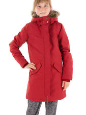 O'Neill Parka Winter Jacket Long Jacket Expedition red Hooded Fur warm