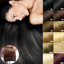TOP 8 pc 18 Clips Clip In Remy Human Hair Extensions Full Head Beauty Lady HQ473