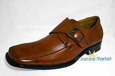 Delli ALDO Brown Dress Loafers Shoes (New with Box)