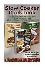 Slow Cooker Cookbook Box Set 3 in 1 60 Healthy Easy Prepare Slow Cooker Recipes