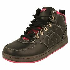 Lades Mercury Hi Top Trainers/Boots; Label Jackie -w