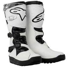 Alpinestars No Stop Trials Offroad Boots White
