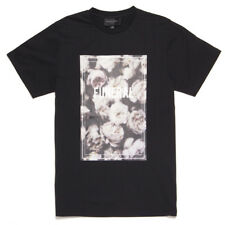"""Black Scale """"Funeral"""" Short Sleeve Tee (Black) Men's Floral Graphic T-Shirt"""