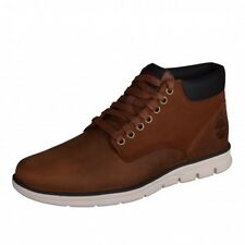Timberland Chukka Leather Brown Boots Winter Boots Earthkeepers A13EE