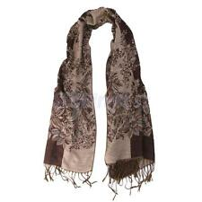 New Womens Lady Winter Warm Cashmere Floral Long Pashmina Shawl Wrap Scarf