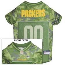 GREEN BAY PACKERS Dog Jersey * CAMO * XS-XL NFL Football Camouflage Puppy Shirt
