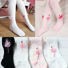 Baby Kid Girls Cute Lace Flower Soft Cotton Long Socks Stocking Pantyhose Tights