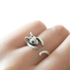 New Style Mouse Ring wrap animal rings vintage Mice Animal Ring Jewelry Fashion