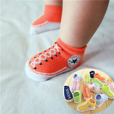 Fashion Indoor Soft Sole Anti-Slip Crib Shoes Baby Infant Toddler Shoes Socks