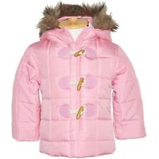 Baby Girls Pink Hooded Puffer Jacket