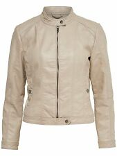 Ladies LEATHER JACKET RACHEL Faux leather JACKET Faux leather beige 15113758